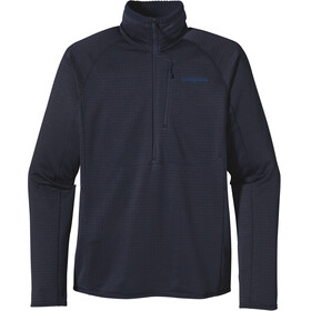 """Patagonia M's R1 Pullover Navy Blue W/Navy Blue"""